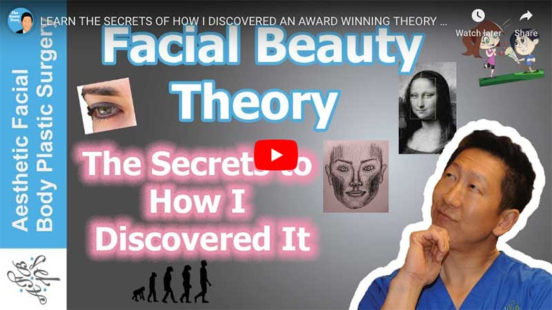 LEARN THE SECRETS OF HOW I DISCOVERED AN AWARD WINNING THEORY ON FACIAL BEAUTY BY SEATTLE'S DR YOUNG
