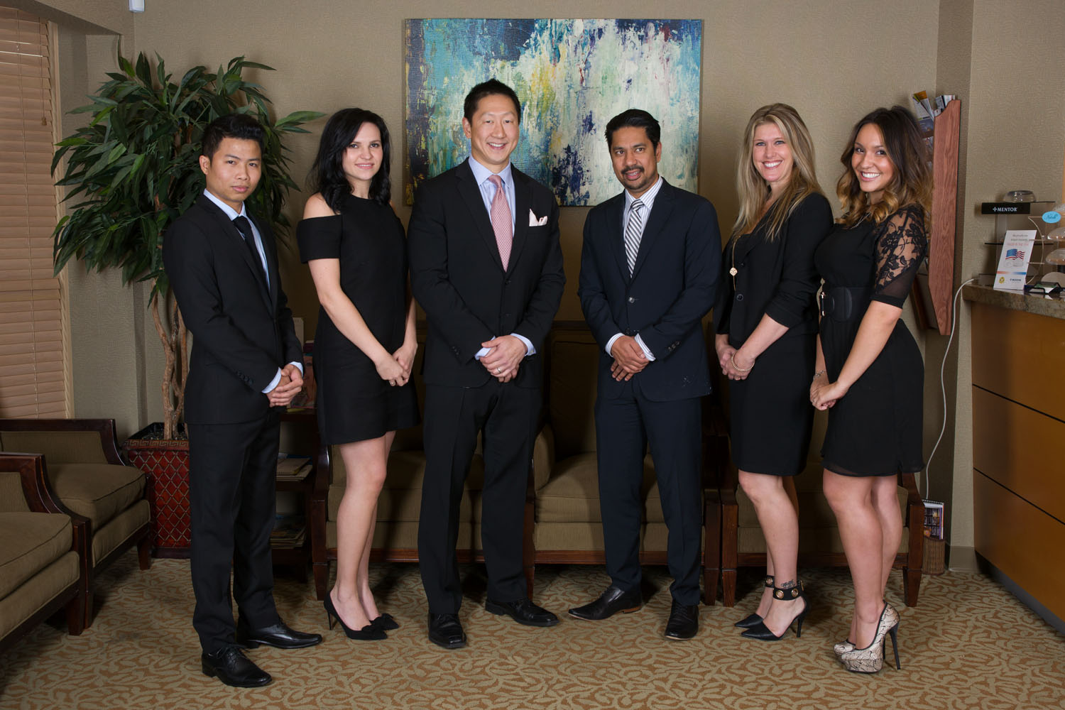Seattle Aesthetic Facial Plastic Surgery Team Dressed Up