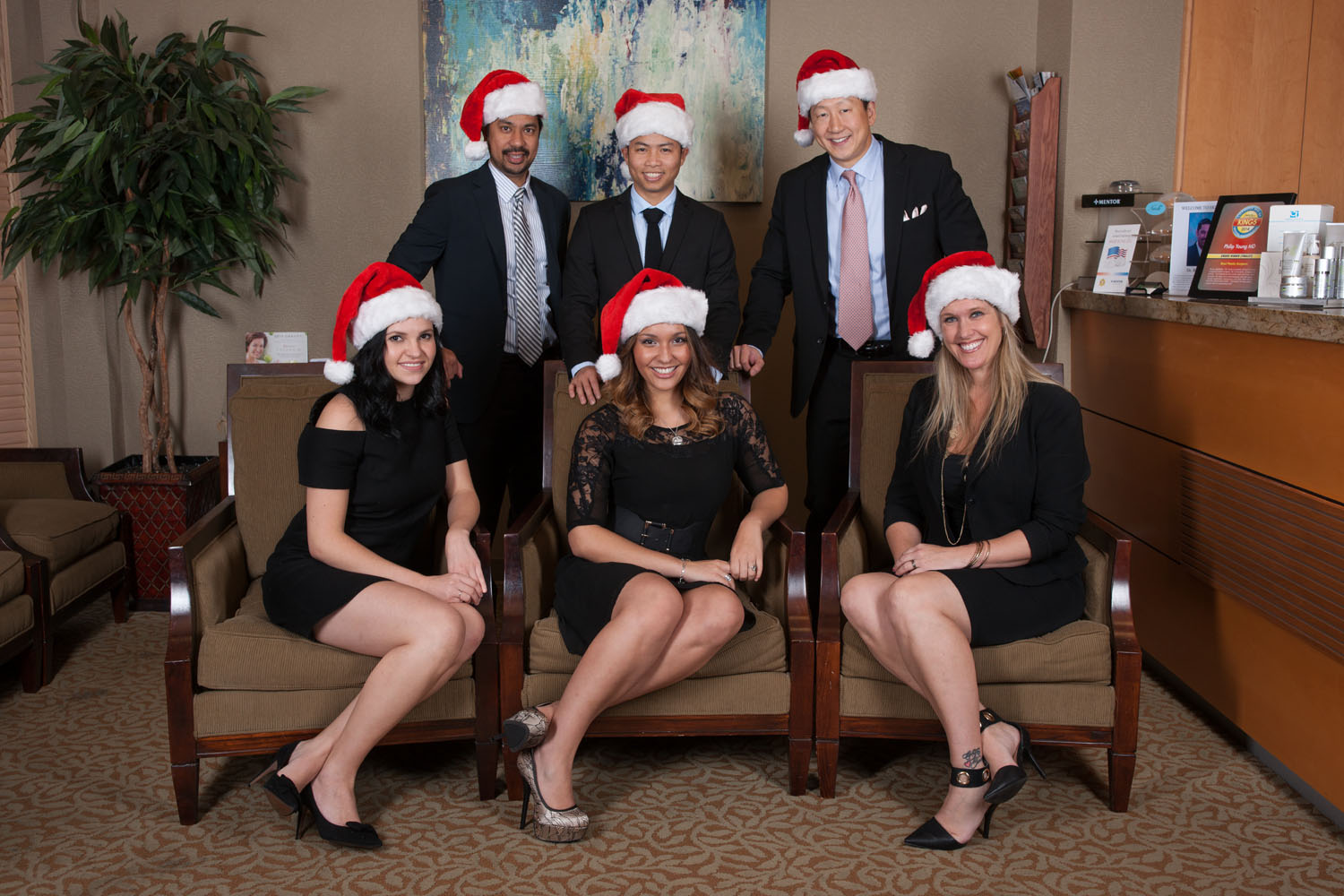 Seattle Aesthetic Facial Plastic Surgery Team Christmas